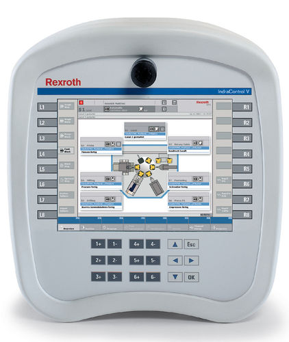 mobile display and control panel IndraControl VEH 30 Bosch Rexroth - Electric Drives and Controls