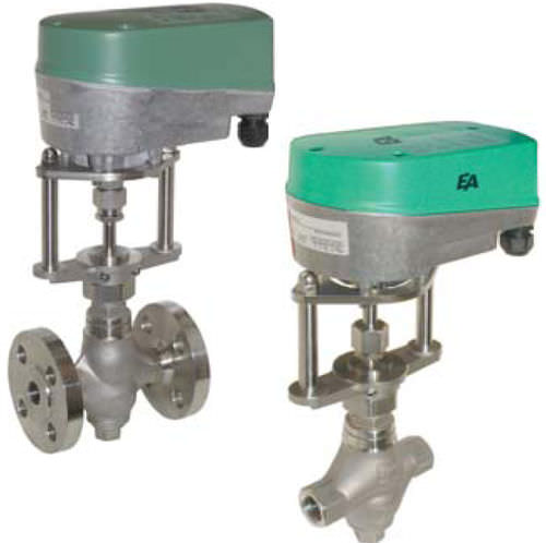 motorized control valve DN 15, PN 40 | NBK series END-Armaturen GmbH &amp; Co. KG
