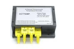 multi-channel temperature data-logger 8 channels | OctTemp Linseis