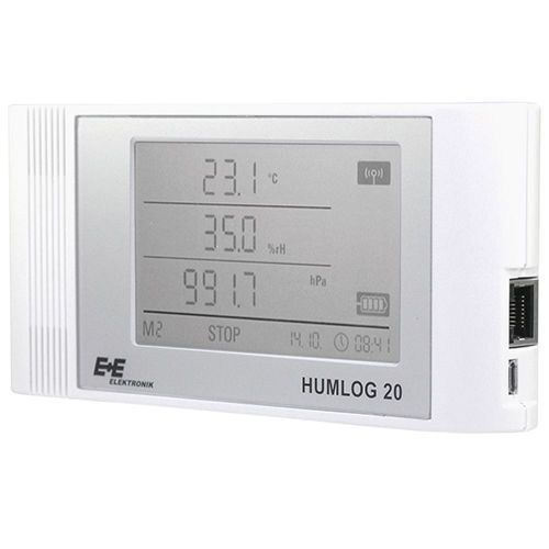 multi-function data-logger: humidity, temperature, CO2 10-95 %rF, -20 - 50 °C, 300-1300 hPa, 0-5000 ppm | HUMLOG 20 E E ELEKTRONIK