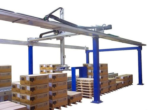 palletizing / depalletizing robotic cell MOD21 series Italiana Robot