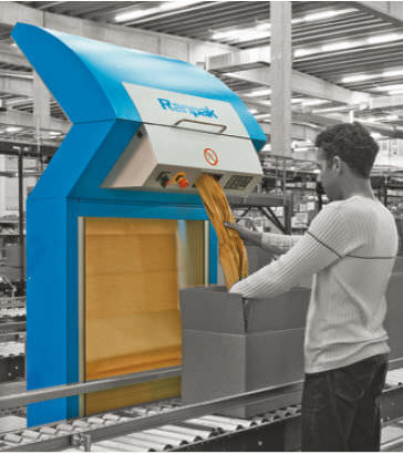 paper protective packaging machine 0.8 - 1.4 m/s | FillPak® Ranpak