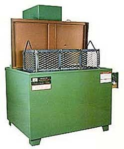 parts solvent cleaning machine (spray)   Magnus Equipment / Power Sonics