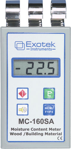 pinless moisture meter for wood MC-160SA  Exotek Instruments