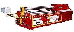 plate bending machine with 3 drive rollers max. 50 mm | MODEL 131 JAMMES Industrie
