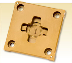PLCC socket 4.4 - 10.1 A, max. 20GHz | Leaded ROL™200 series Johnstech