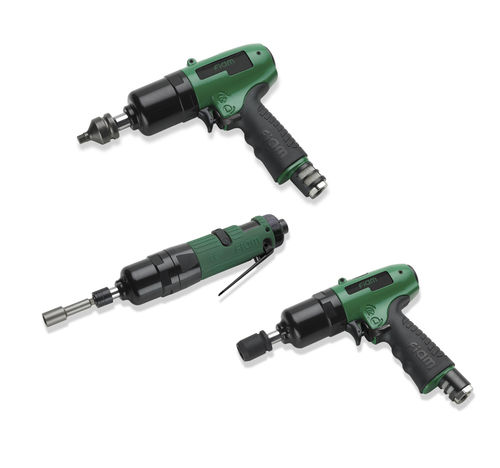 pneumatic screwdriver with hydraulic impact 10 - 210 Nm FIAM Utensili Pneumatici Spa