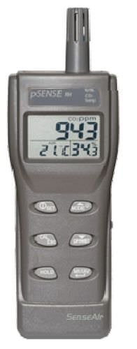 portable carbon dioxide (CO2) detector 0 - 3000 ppm | PTC82-1160 MSR-Electronic GmbH