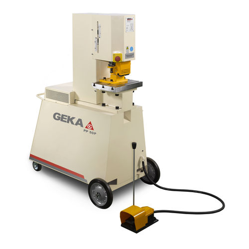 portable hydraulic punching machine 500 kN | P, G GEKA