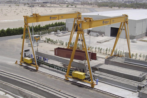 rail mounted gantry crane RGC 40t - 3 CIMOLAI TECHNOLOGY SpA