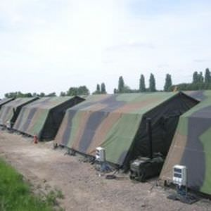 rapid deployment field shelter Mustmove&reg; MUSTHANE