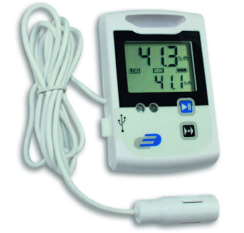 relative humidity and temperature data-logger with external sensor -30 - 60 °C | LOG 110-EXF Dostmann electronic
