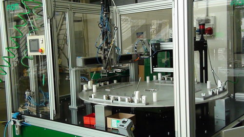 rotary table assembly machine FIAM Utensili Pneumatici Spa