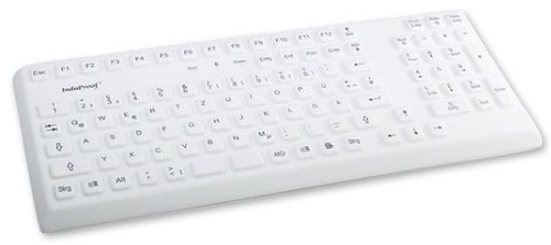 rugged industrial keyboard 0.3 mm, 2.6 N, IP68 | KG02002 InduProof 2 INDUKEY