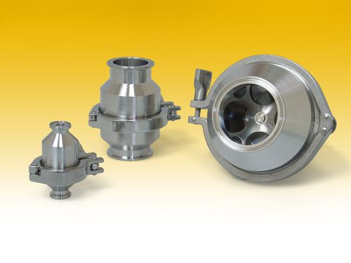 sanitary valve 1/2 - 6"