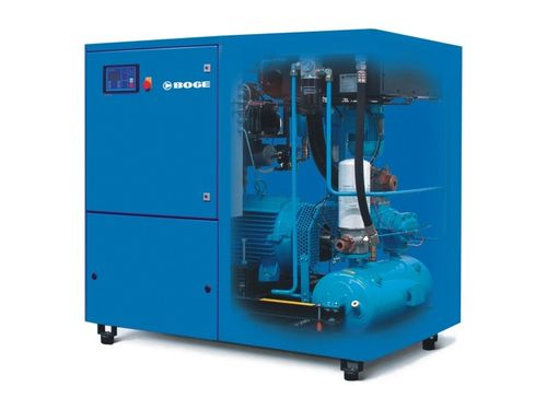 screw compressor with oil injection (stationary) 2.67 - 40.8 m³/min, 8 - 13 bar | S series BOGE