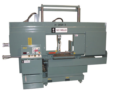 semi-automatic dual column horizontal band saw H-2024-3 WF Wells Inc