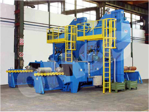 shot blasting machine for gas cylinder RBC OMSG - OFFICINE MECCANICHE SAN GIORGIO SpA