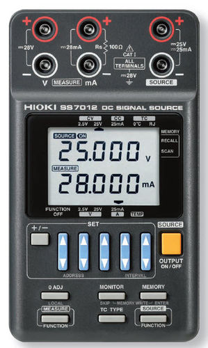 signal calibrator &plusmn;2.5, &plusmn;25 V | SS7012 HIOKI E.E. CORPORATION