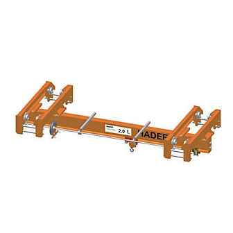 single girder suspension overhead traveling crane 1 000 - 10 000 kg, max. 20 m | EDHH HADEF