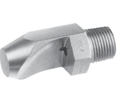 Impact Spray Nozzles Spray Nozzle / Flat