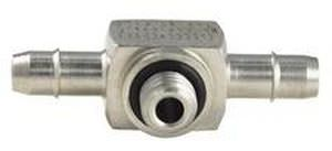 stainless steel barbed tee coupling ø 1.2 - 2.4 mm | S5MTS series Beswick Engineering Co, Inc.
