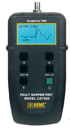 TDR cable tester 11 700 ft (3 500 m) | CA7026 AEMC Instruments