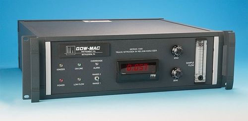 trace gas analyzer: nitrogen (N2) in helium (He) GOW-MAC Instrument Co.