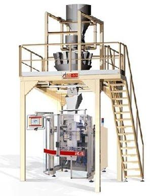 V-FFS bagging machine with multi-head weigher -> 35/min, 2kg -> 10kg Altopack S.p.A.