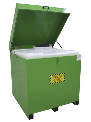 waste oil collection container airbank