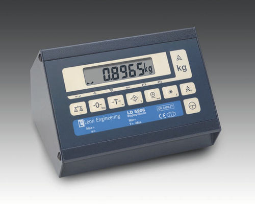 weight indicator IP65 | LD5204,06 Leon Engineering SA