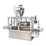 auger filling machine / multi-container / automatic / rotary