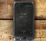 GSM industrial smartphone / IP67 / touch screen / rugged
