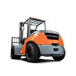 counterbalanced forklift / diesel / LPG / ride-on