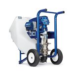 paint pump / electric / normal priming / piston