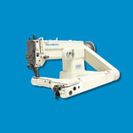 zigzag stitch sewing machine / drop feed / fabric
