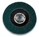Finishing flap disc / for stainless steel 546D 3M Manufacturing And Industry Abrasives