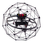 Collision-tolerant UAV / quadrotor / inspection / for industrial applications ELIOS Flyability