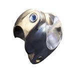 round tube connector / aluminum / zinc
