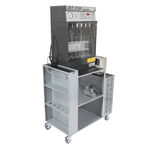 injection test bench / mobile / for automobiles