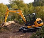 midi boom excavator / crawler / for construction / diesel