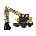 medium excavator / rubber-tired / Tier 4 - final / construction