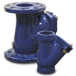 Wastewater valve / ball / sewage / cast iron  Sulzer Pumps Equipment