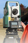 reflectorless total station / automatic