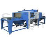 automatic sandblasting machine / stationary / pressure / belt