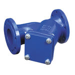water filter / strainer / Y / flange