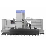 CNC boring mill / horizontal / 4-axis / high-precision