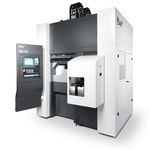 CNC milling-turning center / vertical / double-spindle / compact