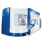 5-axis machining center / universal / milling