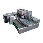 stationary bending cell / servo-electric / sheet metal / fully-automatic